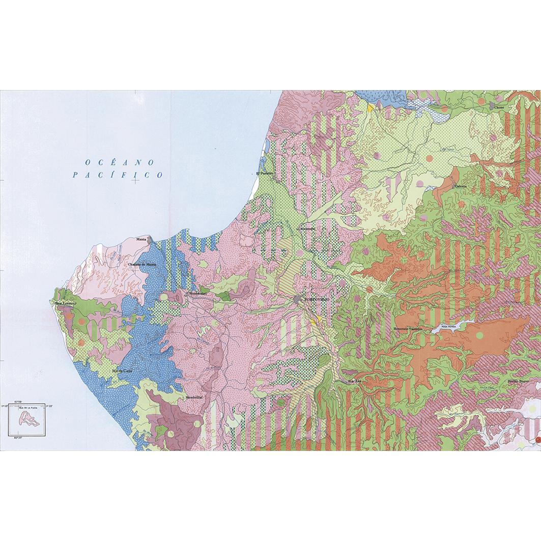 Portoviejo : carta de paisajes vegetales y uso actual