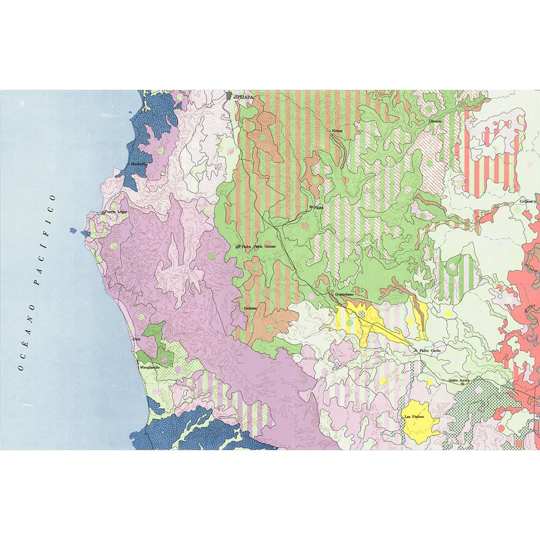 Jipijapa : carta de paisajes vegetales y uso actual