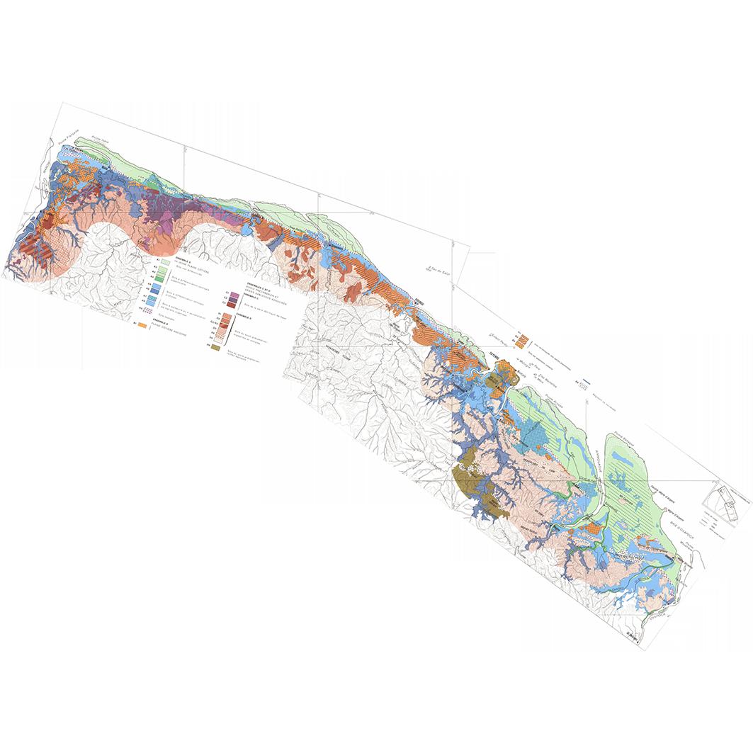 La Guyane : planche 11 : pédologie : plaines côtières