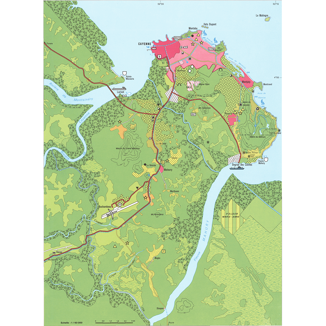 La Guyane : planche 35 : Ile de Cayenne