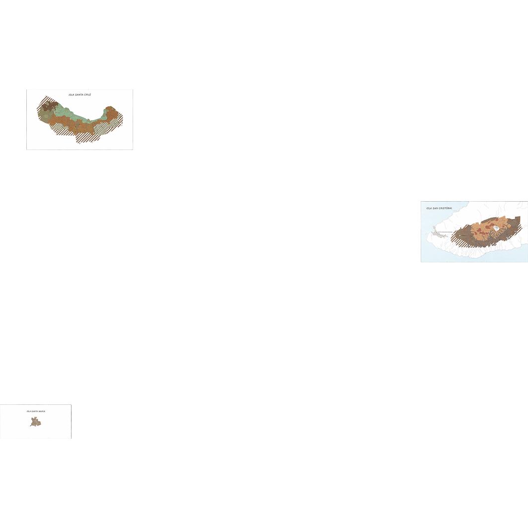 Islas Galapagos : zonas agricolas (Santa Maria - Santa Cruz - San Cristobal) : mapa morfo-pedologico